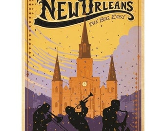 New Orleans Mardi Gras Wall Decal #42221