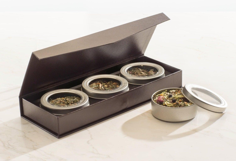 tea gift box set. Black Bedroom Furniture Sets. Home Design Ideas