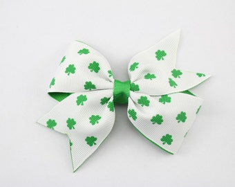 St Patricks day bow, Baby's first st Patrick day  St Patrick's day headband