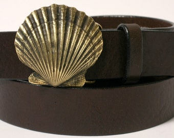 Bay Scallop Shell Belt