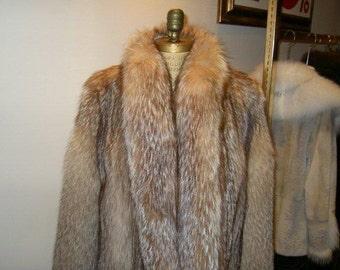 New Crystal Fox Fur Coat