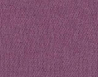 Bella Solid Plum (purple) Fabric by Moda Basics Fabrics 9900 204 -1/2 yard