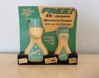 Jergens vintage moisture cream 1950's