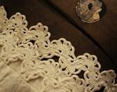 Crocheted Trim - Vintage 1930s or older
