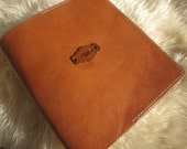 Personalized Leather Journal Cover - Leather Day Planner