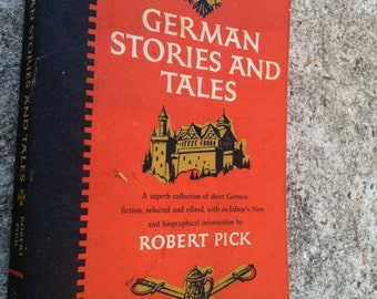 German Stories and Tales By Robert Pick