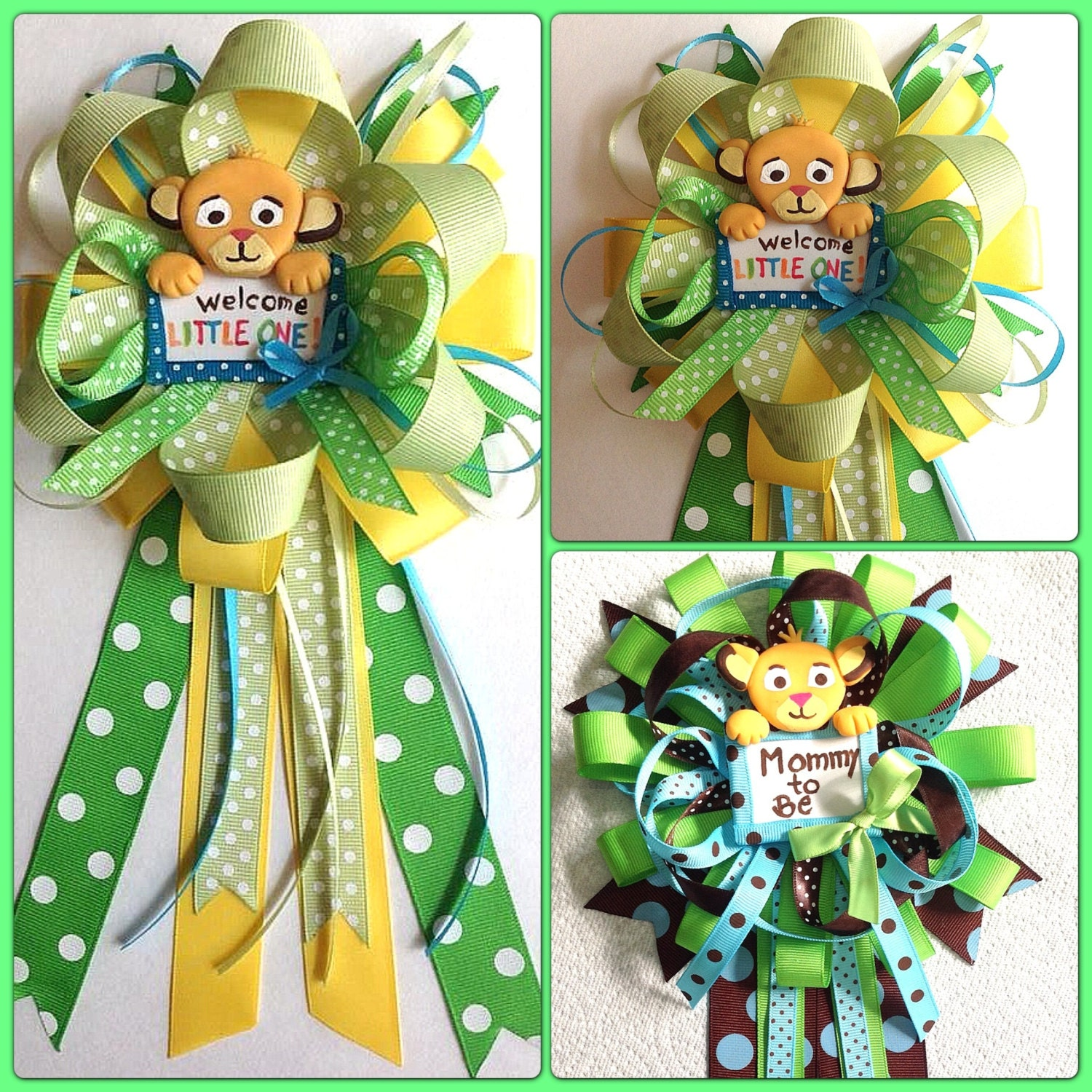 Lion Baby Shower Ideas: Lion King Baby Shower Mommy To Be Bow By Marshmallowfavors