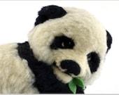 Items Similar To Fluffy Giant Panda Realistic Miniature