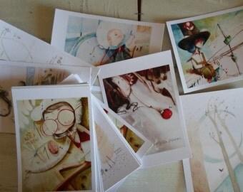 postcards illustrated