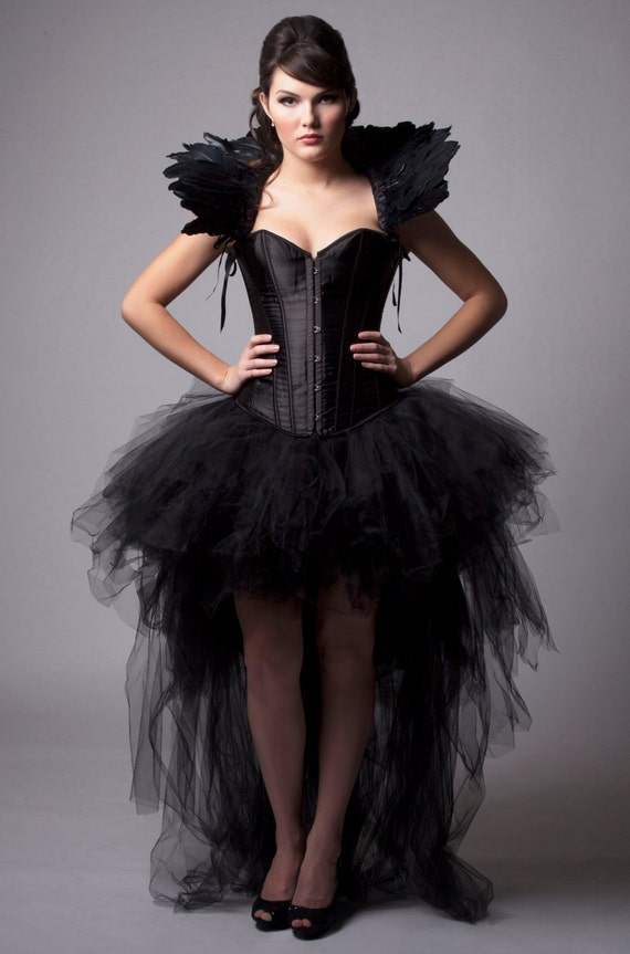items similar to custom black queen corset dress burlesque