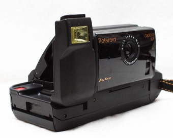Polaroid Captiva SLR qps Instant Film Camera With F12 107mm Lens / Made in USA