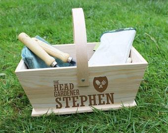Personalisierte Gärtner Trug - Custom - Weihnachts - Geschenk für Papa - Geschenk für Mama - Gartenarbeit - Gärtner Traum - kostenlose UK Lieferung!