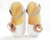 Rose, Statement Baby Shoes by Demetriou