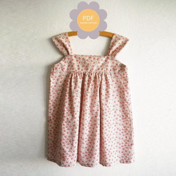 Summer dress pattern from Koko Pattern