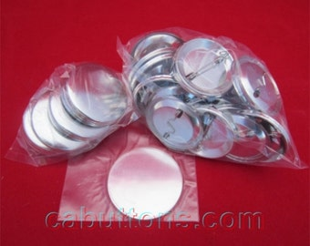 """1000 pcs 1-1/2"""" inch 1.50 Tecre Complete Pinback Button Badge Machine Parts Set for Button Maker Machines"""