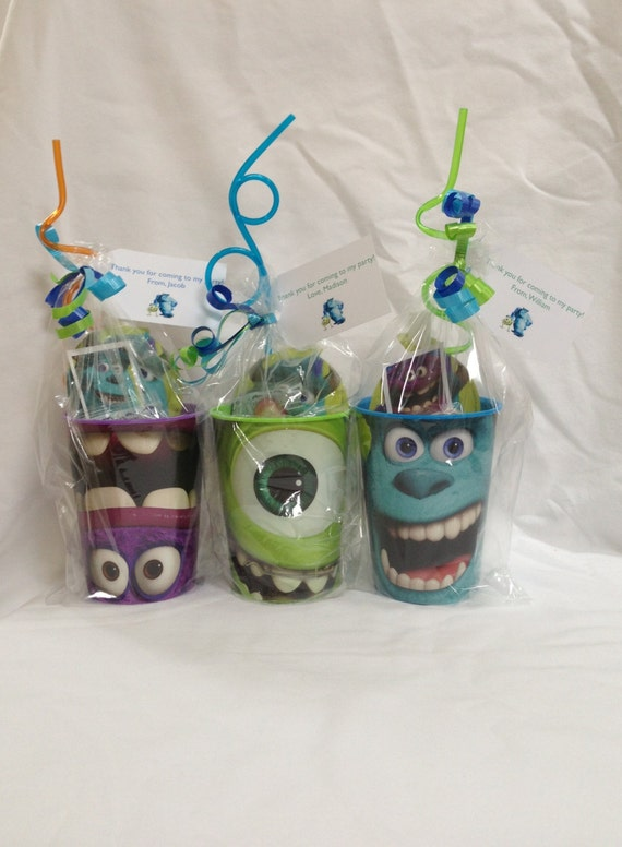 Items Similar To Monsters University Party Favor On Etsy