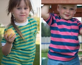 Children's T-Shirt Pattern Sizes 2T-12 Years