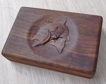 Fishing fly box
