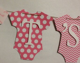 It's A Girl Baby Banner, Baby Shower Decorations, Party Decorations