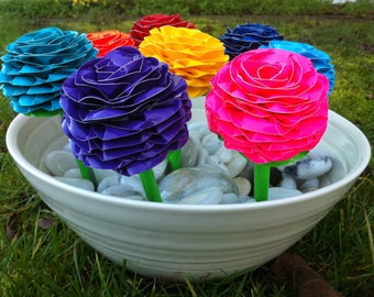 REUSABLE PEN TOPPER Duct Tape Flower