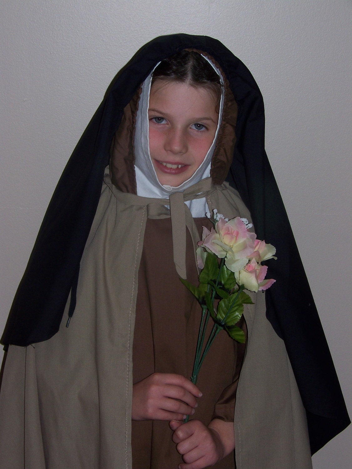 St Therese the Little Flower Costume for Girls by faithfulfindz