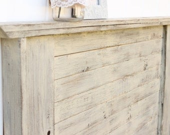 Distressed Cottage Headboard