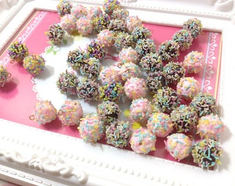 Charm Sweet - Candy 20pcs -  For Sweet Deco, Dollhouse, Miniature - LOT093