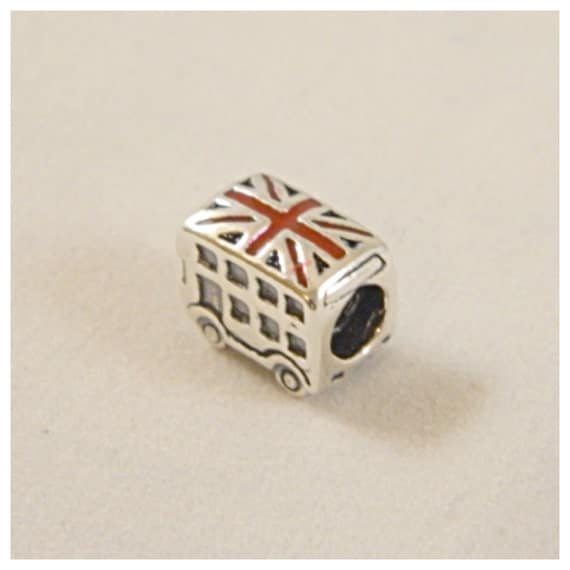 Authentic Pandora London Bus Bead Charm S925 Ale 791049ER