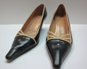RESERVED / Authentic CHANEL Vintage Shoes / 60s Shoes / Coco Chanel Heels / Mod Shoes / Size 38