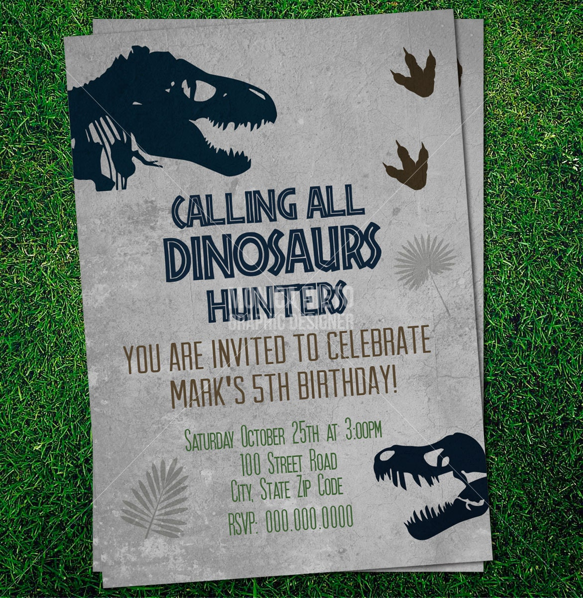 It's just an image of Invaluable Dinosaur Party Invitations Free Printable