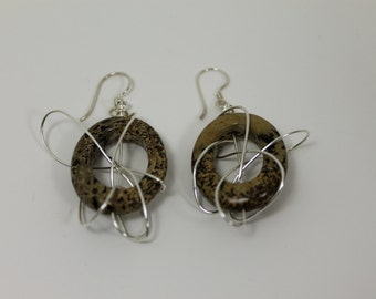 Quartz Dangle Earrings