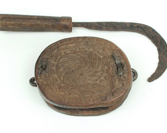 Antique rice sickle Nepal (no. 4)