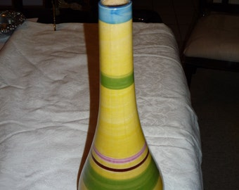 Hand-Painted Decorative Vase