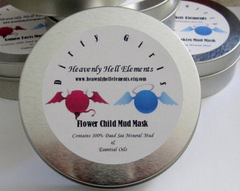 Flower Child Dead Sea Mineral Mud Mask  Dirty Girls Light Patchouli