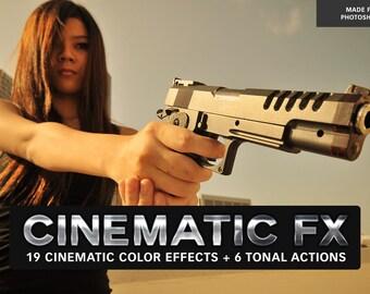 25 Cinematic FX Photoshop Actions