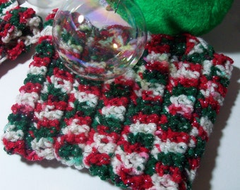 Christmas Boot Cuffs, Holiday Boot Toppers, Crochet Boot Cuffs/Legwarmers