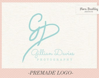 Initials One of a Kind Logo Design and Watermark  - FB063