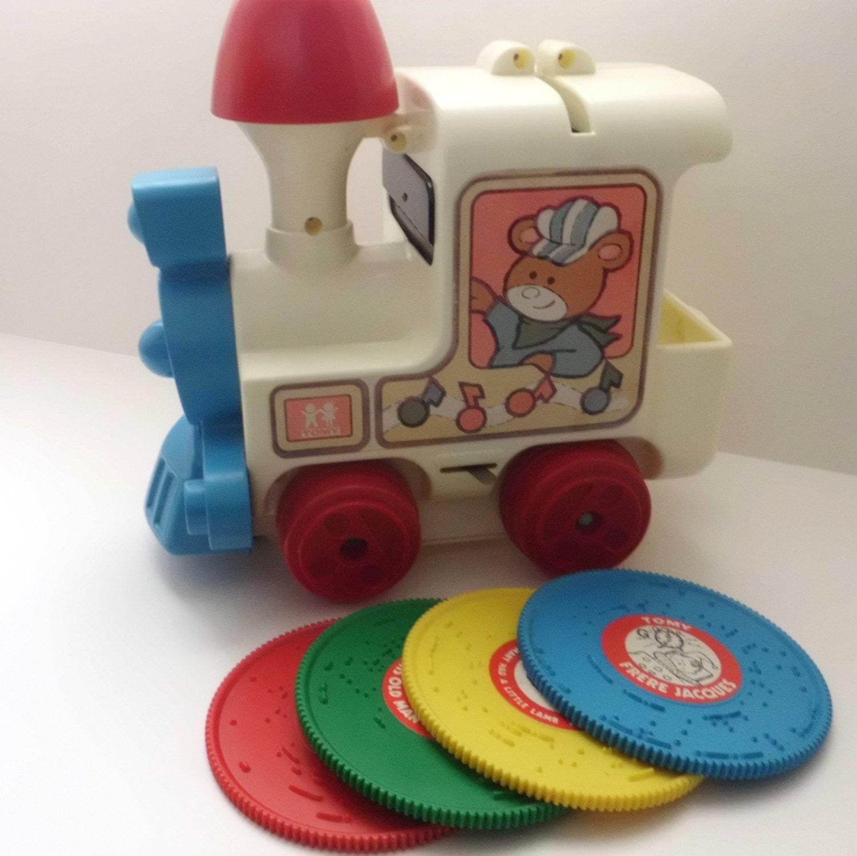 Vintage Toy Train Tomy Tuneyville Choo Choo