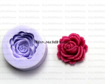 Flower Flexible Silicone Mold Silicone Mould Candy Mold Chocolate Mold Soap Mold Polymer Clay Mold Resin Mold F0068