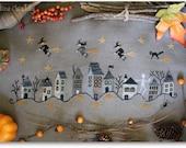 Halloween Town - Cross stitch Pattern