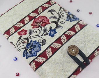 13 inch Laptop Sleeve Case, Macbook Air or Pro, Custom Size for Your 13'' Laptop Cover,Padded Sleeve Case,13 Inch MacBook Air,Rose Kilim