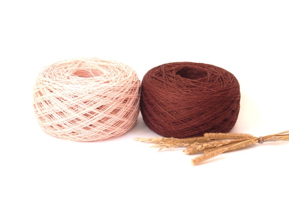 Balls, Natural Linen Yarn, High Quality, Pale Pink, Linen Yarn For ...