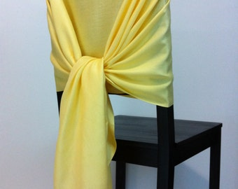 PALE YELLOW PASHMINA , Pashmina Scarf, Pashmina Shawl, Wedding Shawl, Pashmina Wrap, Bridesmaid Shawls, Wedding Favors, Chair Covers
