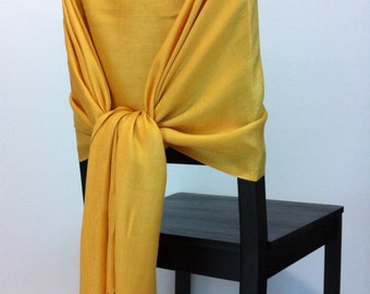HONEY GOLD PASHMINA, Honey Gold Pashmina Scarf, Pashmina Shawl, Wedding Shawl, Pashmina Wrap, Bridesmaid Shawl, Wedding Favors, Chair Covers