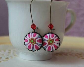 Murrine earrings