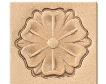 Gothic Flower Leather Stamp Tool