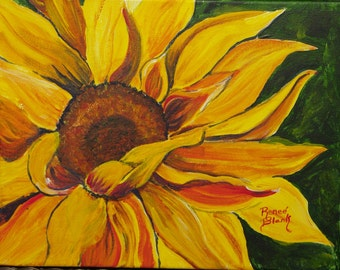 "This is a print of my original Acrylic painting titled""Good Morning Sunshine#1""  5 x 7, 8 x 10, 11 x 14 ,16x20, wrapped canvas, notecards"