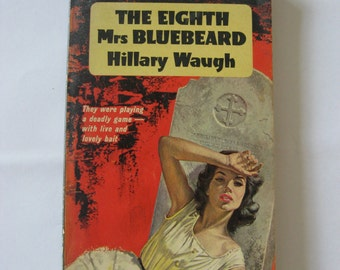 The eighth Mrs. Bluebeard by Hillary Waugh  , Great Pan book nr. G459, First print 1961
