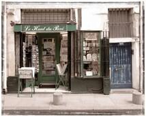 Paris Store Facade, Street Scene, Paris Photo, Paris in the Spring, Fine Art Photo, Unique Home Decor, Gift Idea, SPECIAL SALE PRICE 19.99
