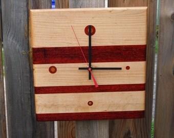 Handmade Wood Clock ***FREE SHIPPING***